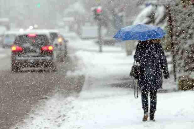 ВУльяновской области предполагается сильный снегопад игололед