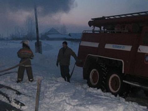 ВУльяновской области впожаре вдоме погибла 93-летняя одинокая пенсионерка