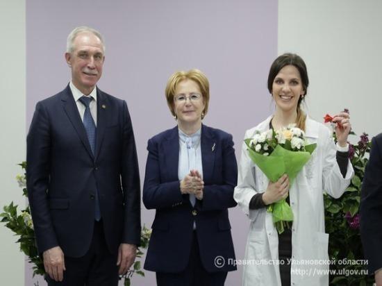 Сотрудникам ульяновского перинатального центра «Мама» выдали ключи от 35 квартир