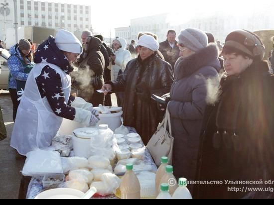 На сельхозярмарке в Димитровграде наторговали на 5 миллионов рублей