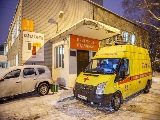 В Димитровграде при столкновении легковушки и погрузчика пострадал ребенок