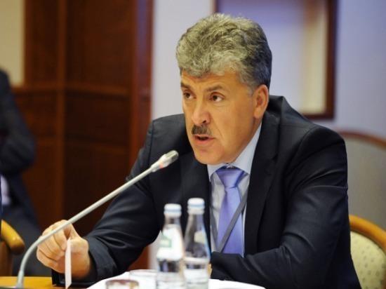 Администрация Ульяновска отказала Грудинину во встрече с избирателями на двух площадях