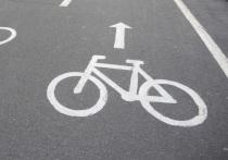В столице появилась травмоопасная велодорожка